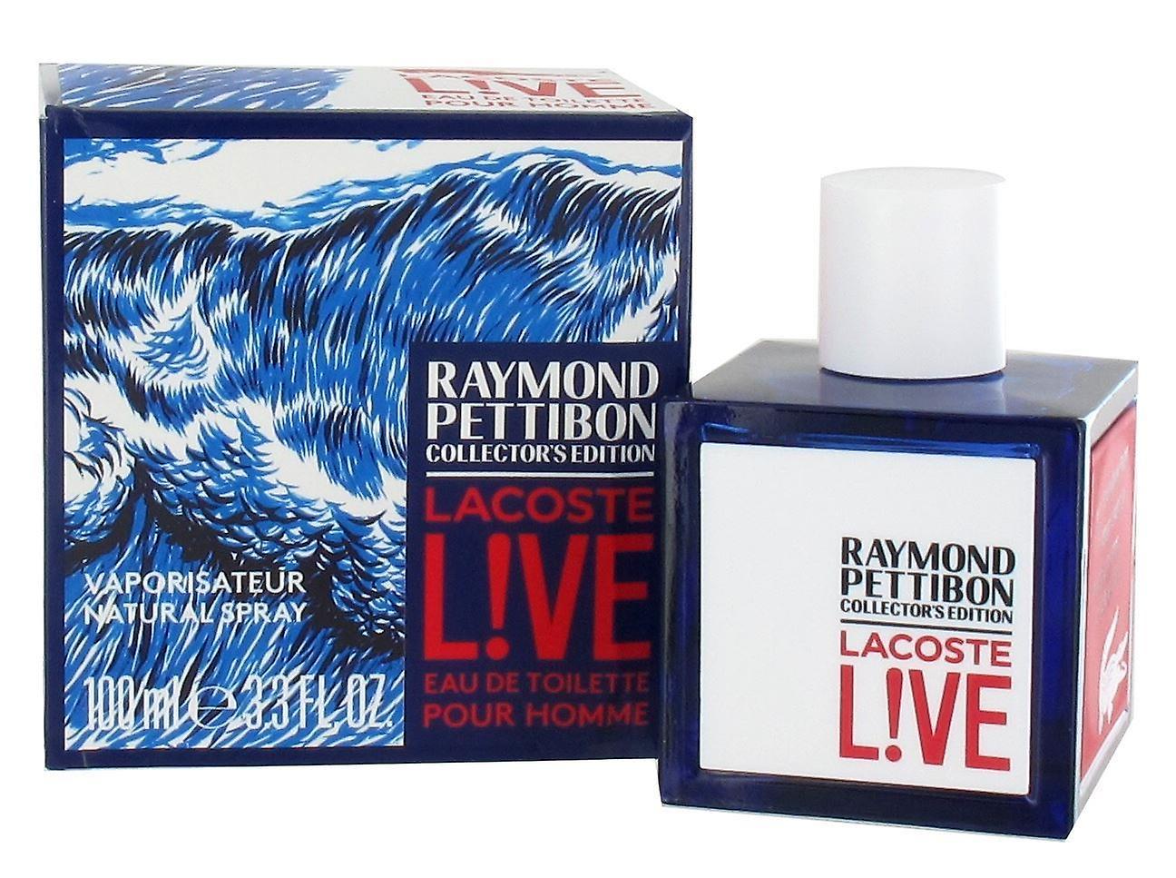 Lacoste Live Raymond Pettibon Collectors Edition