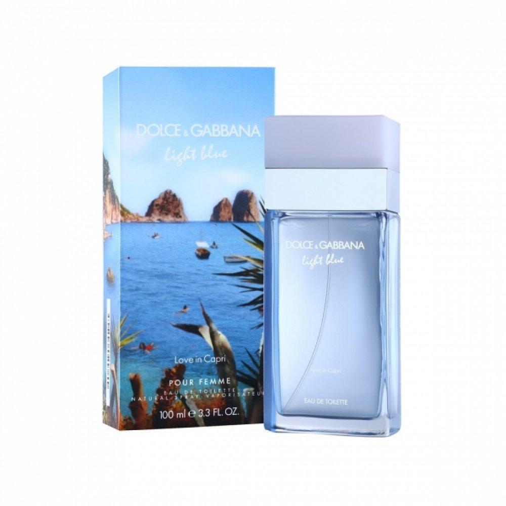 Dolce & Gabbana Light Blue Love In Capri Pour Femme